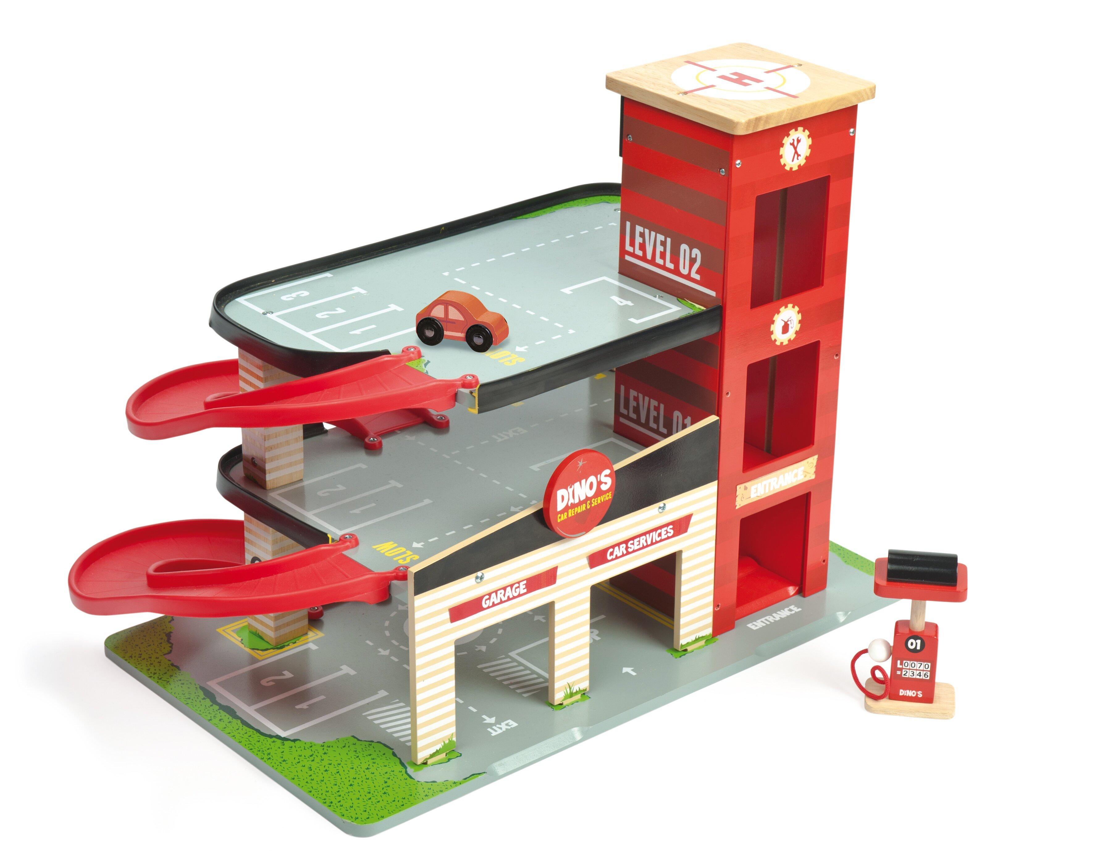 Игрушка гараж своими руками