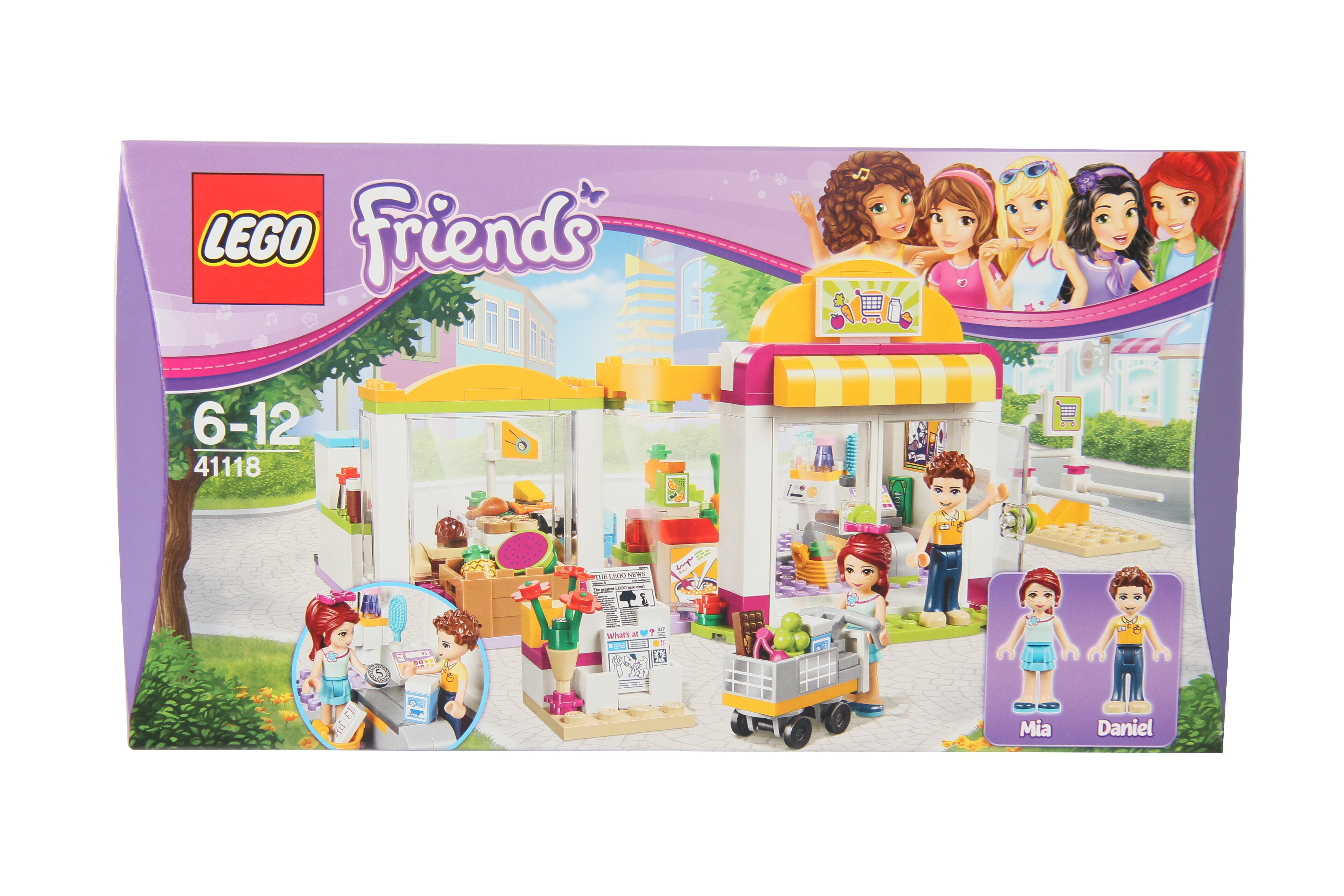 Конструктор Lego Friends Супермаркет 41118