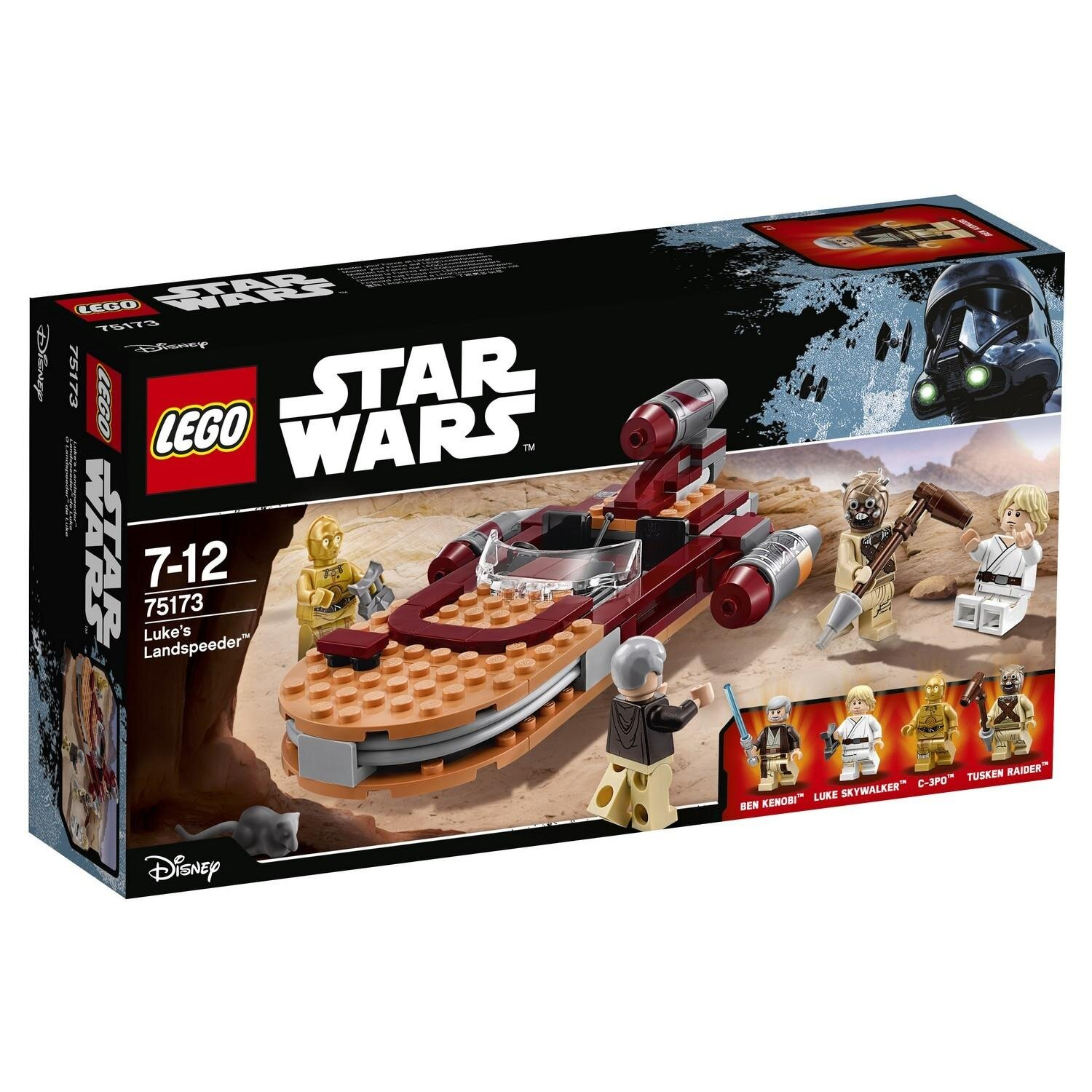 Конструктор LEGO Star Wars TM Спидер Люка 75173