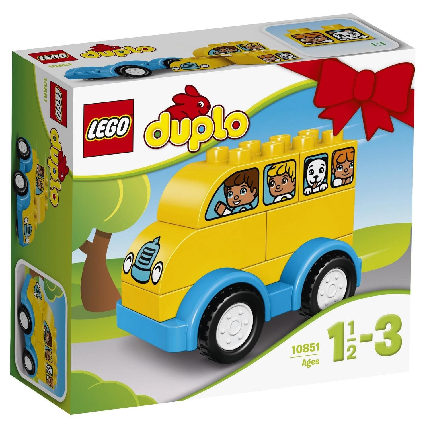Конструктор LEGO DUPLO My First Мой первый автобус 10851