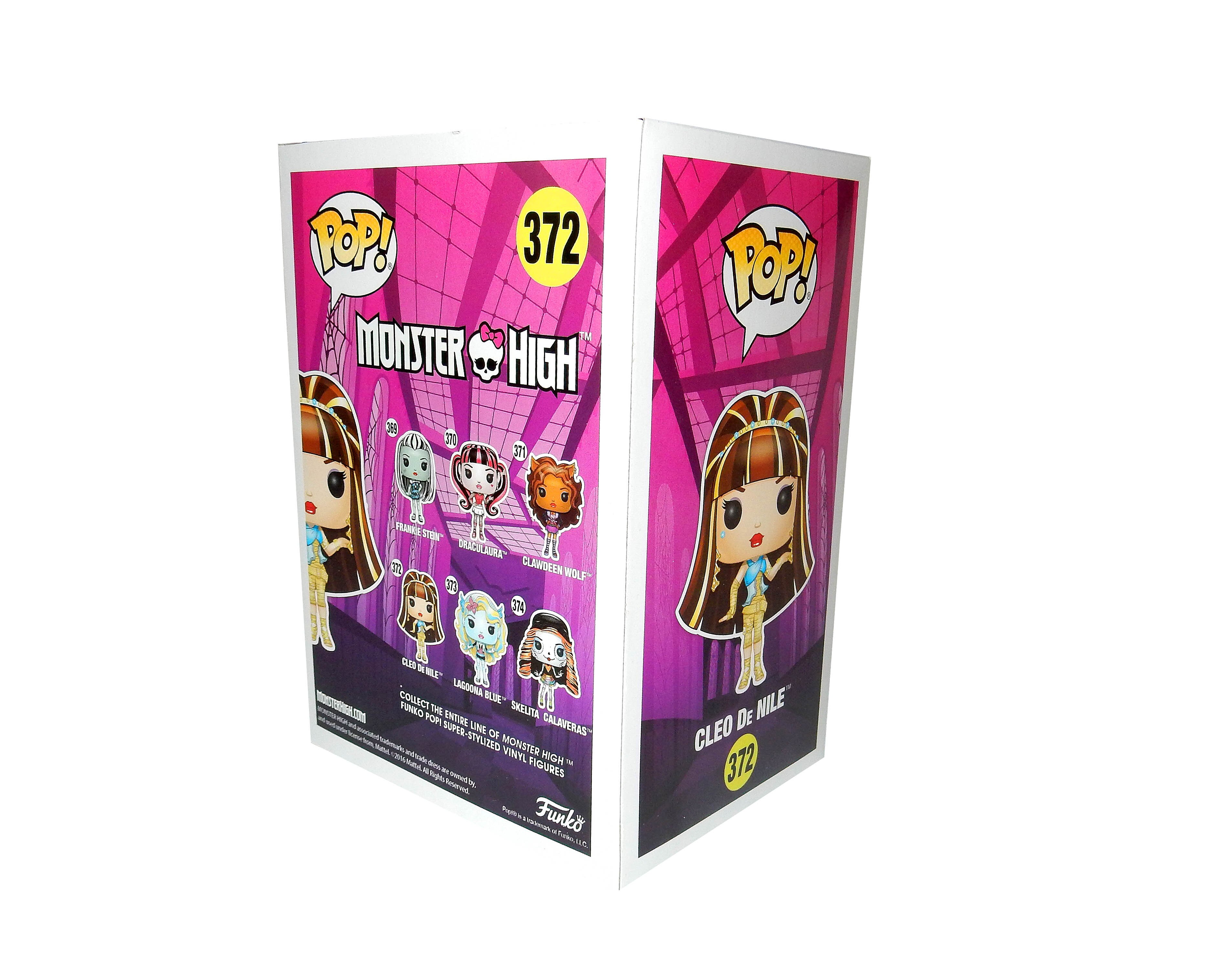 Фигурка Funko POP! Monster High/Монстре Хай : Cleo De Nile/Клео Де Нил