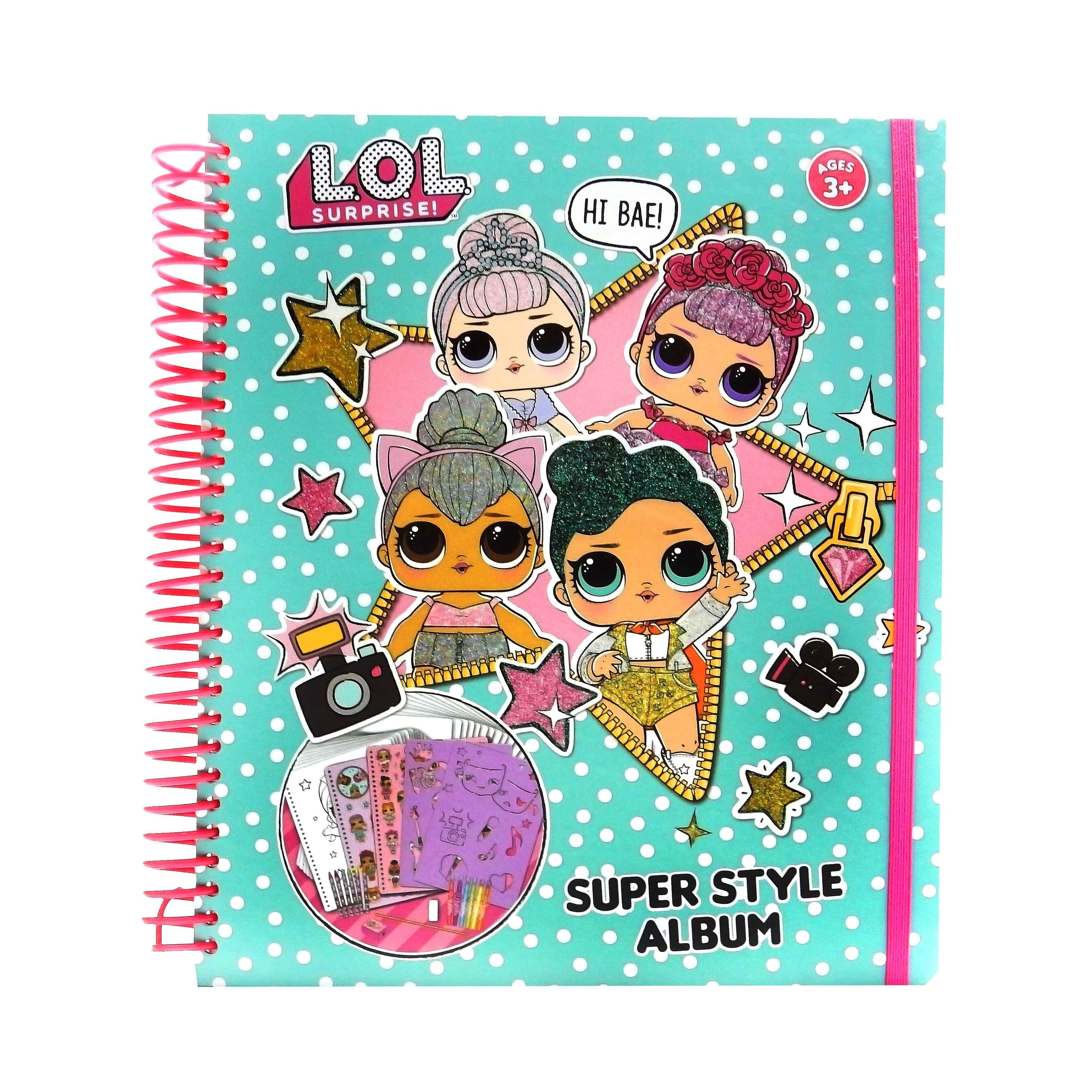 лол альбом Lol Surprise Super Style Album оригинал