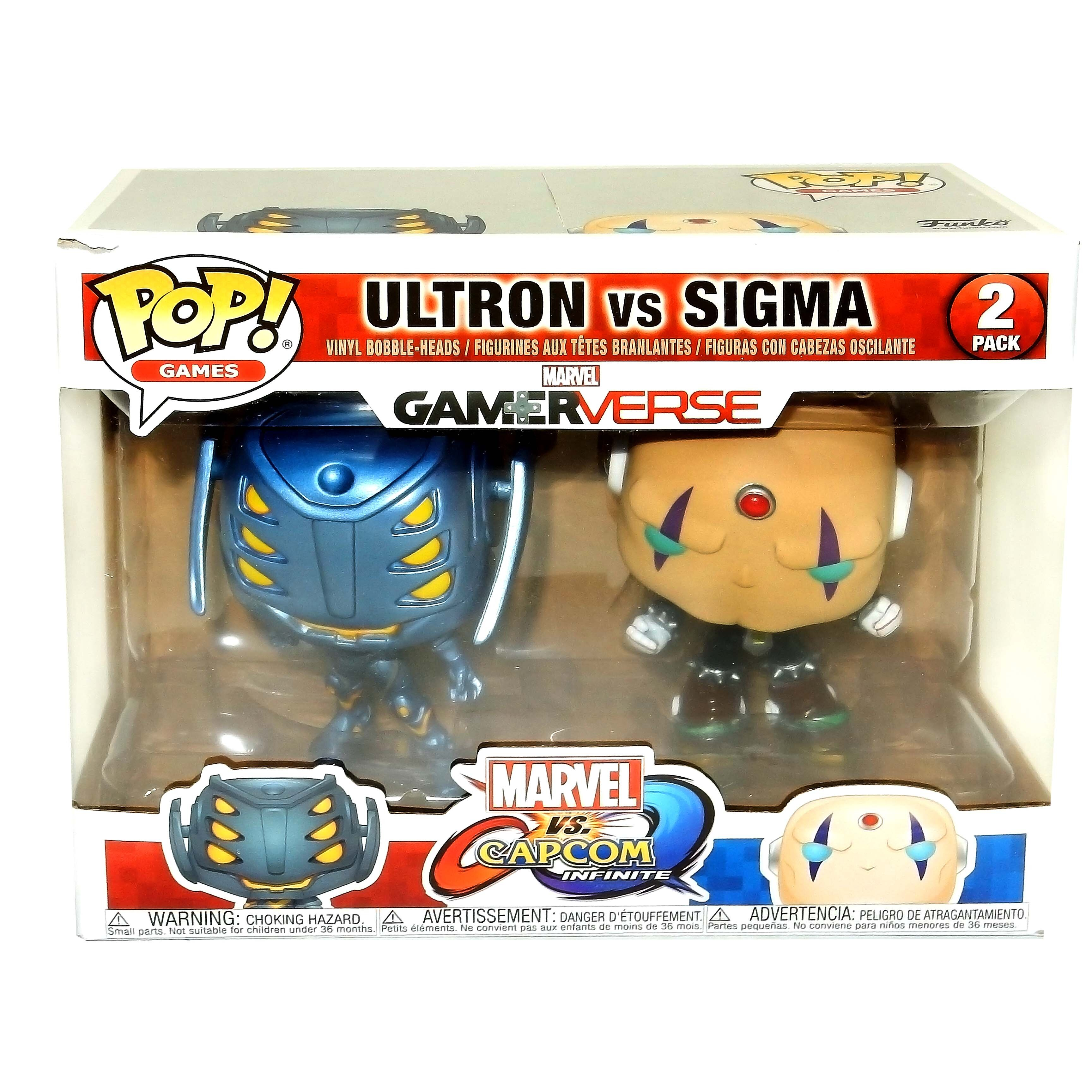 Фигурка Funko POP Ultron & Sigma  (Альтрон против Сигмы) Фанко ПОП