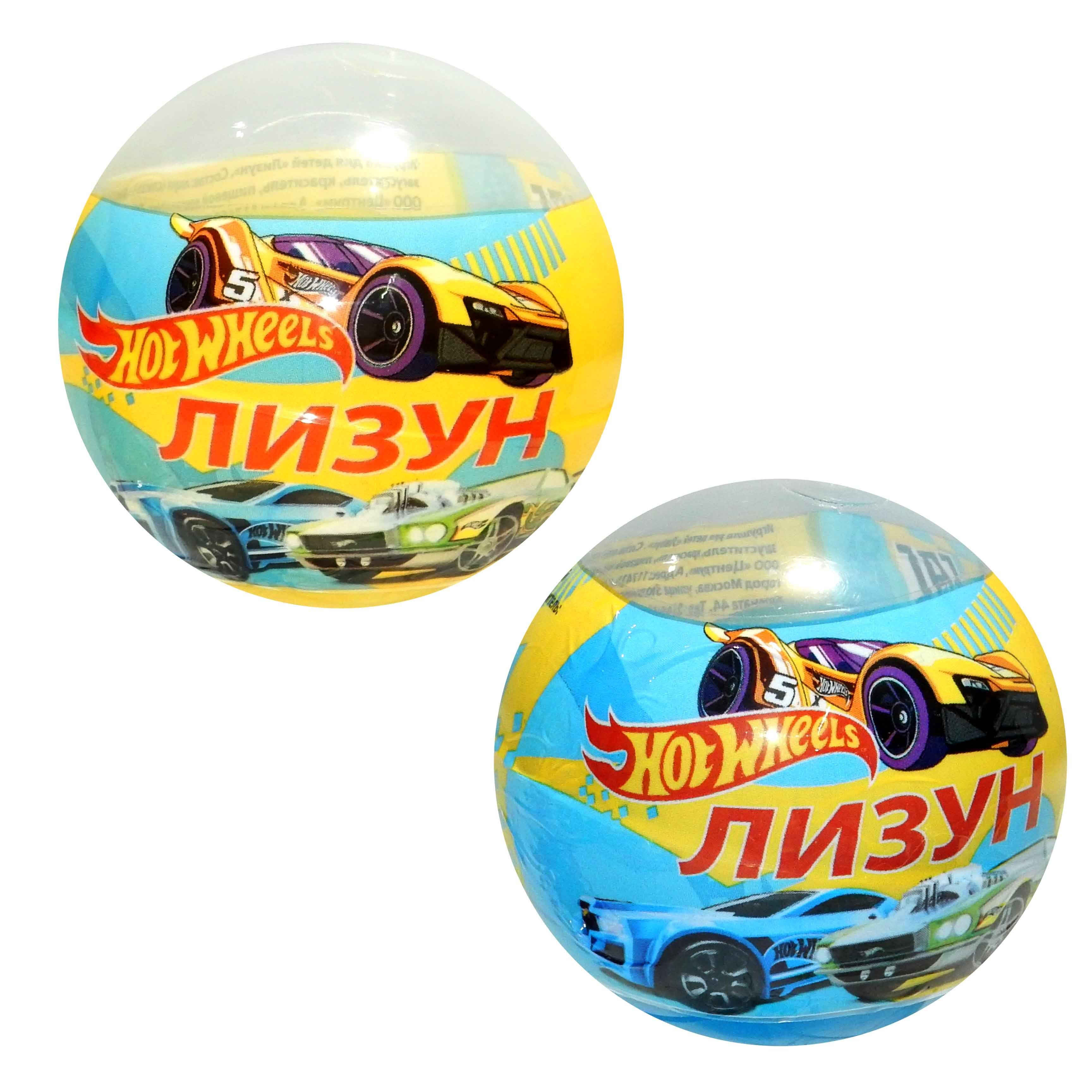 "Лизун шар ""Hot Wheels"" 75 грамм 90113   МИКС  4361519"